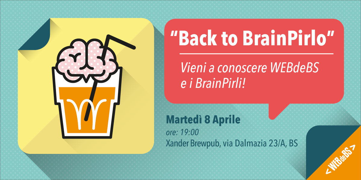 Back to BrainPirlo!